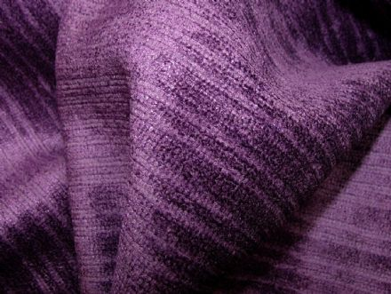 Cadbury Purple Soft Pile Designer Velvet Curtain Upholstery Fabric